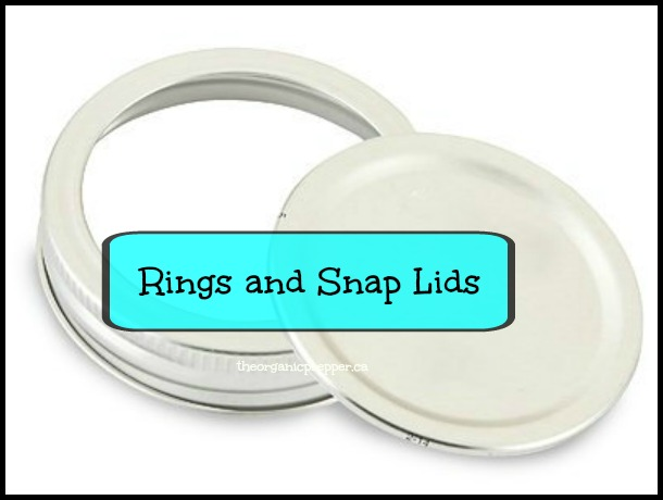Canning jar lids and rings