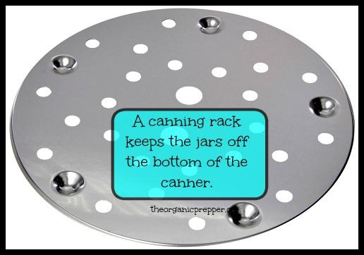 Canning rack
