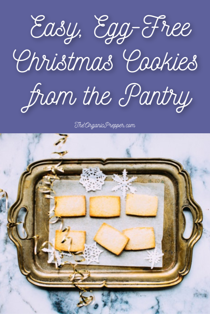 Easy, Egg-Free Christmas Cookies from the Pantry