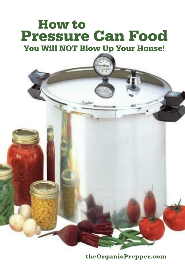 How to Pressure Can Food (You Will Not Blow Up Your House!)