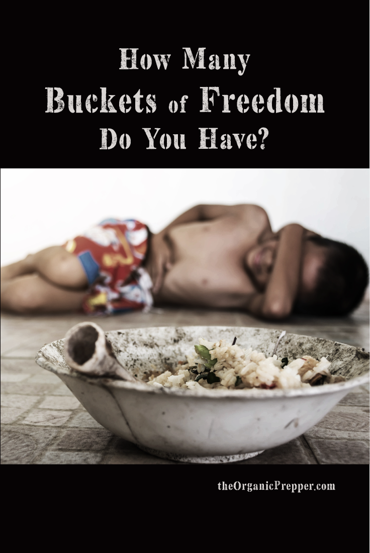 How Many Buckets of Freedom Do You Have?