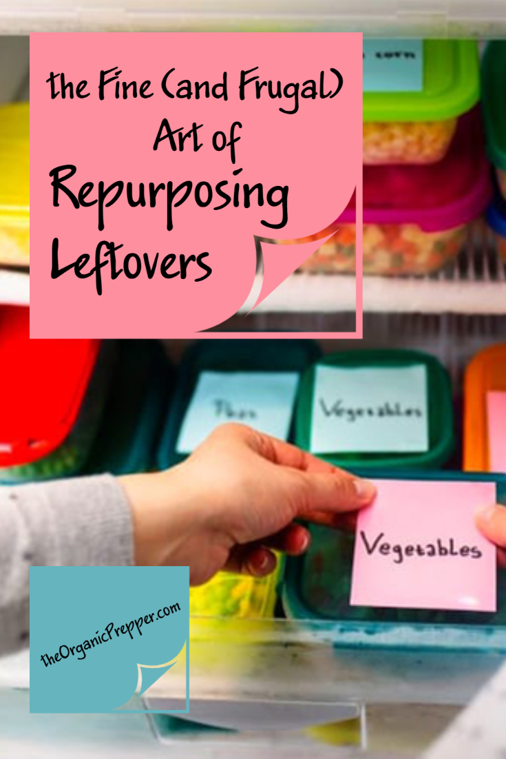 The Fine (and Frugal) Art of Repurposing Leftovers