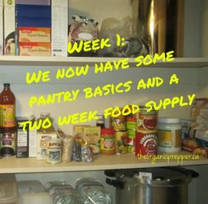 pantry week 1