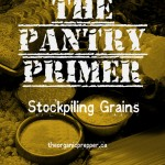 Stockpiling grains