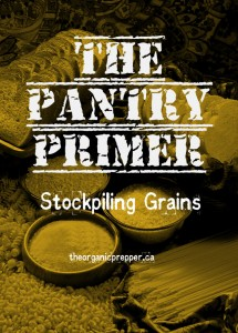 Stockpiling grains