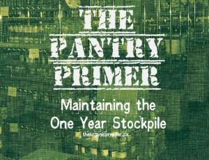 Maintaining the One Year Stockpile