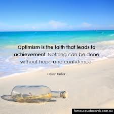 optimism keller