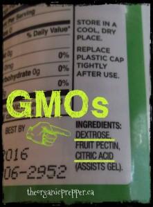 GMOs in pectin