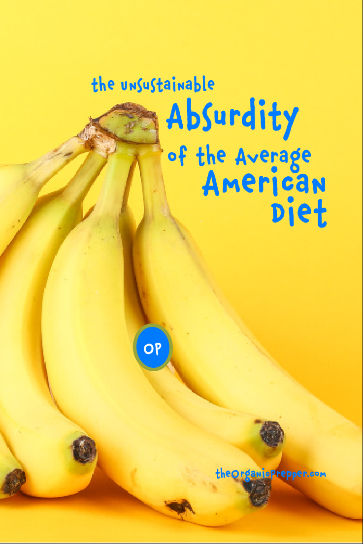 The Unsustainable Absurdity of the Average American Diet