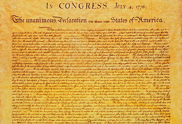 what the declaration of independence in the united states declared So we think that god will see that we are doing the right thing when we declare  that the united states are now completely independent of the.