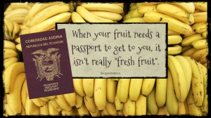when fruit needs a passport