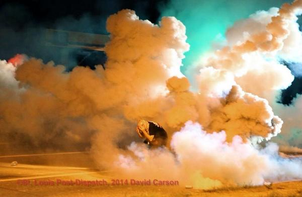teargas ferguson