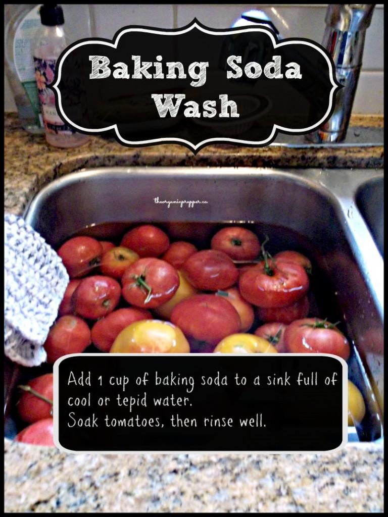 baking soda wash
