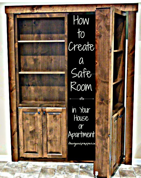 Whether you live in a house or an apartment, you can still create a safe room to which vulnerable family members can retreat in an emergency. | The Organic Prepper