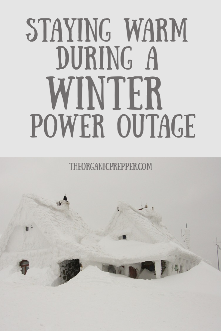 Staying Warm During a Winter Power Outage