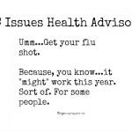 CDC says flu shot might work