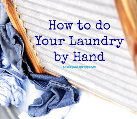 How to do your laundry by hand