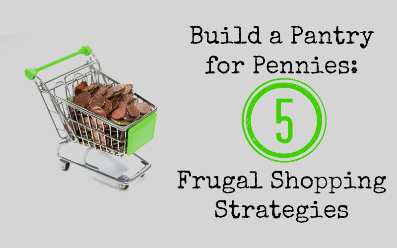 Build a pantry for pennies 5 frugal shopping strategies for Cost to build a pantry
