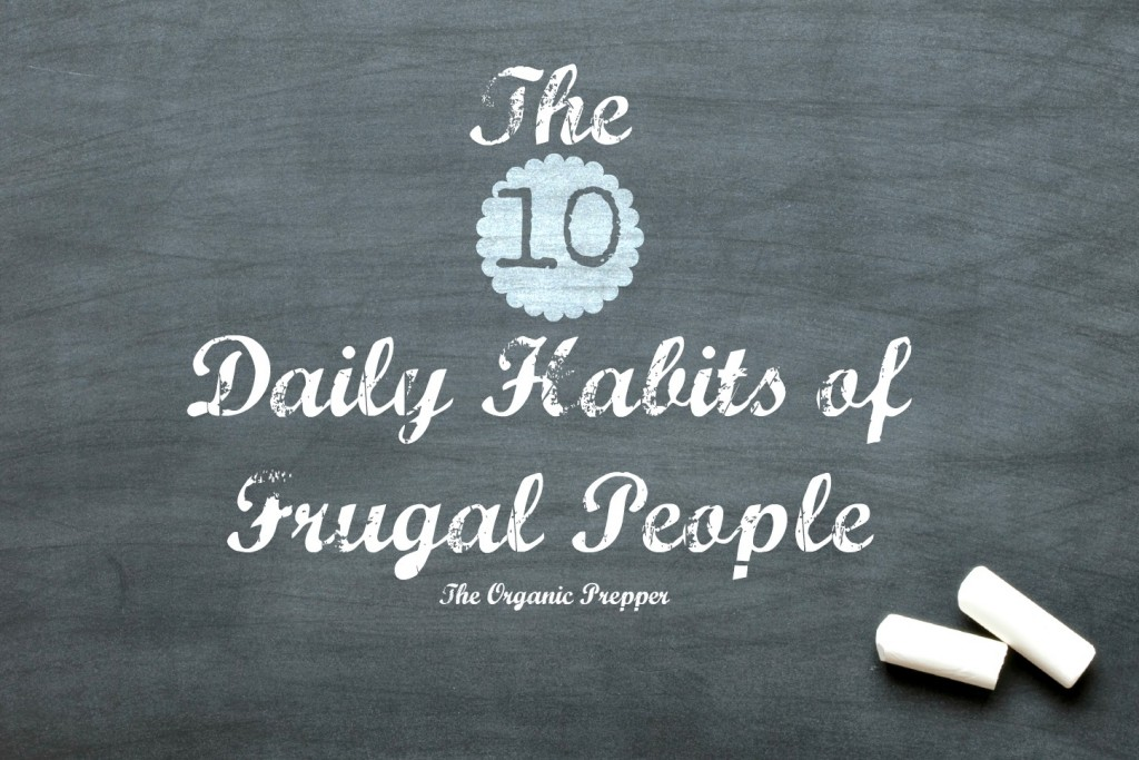 The 10 Daily Habits of Frugal People