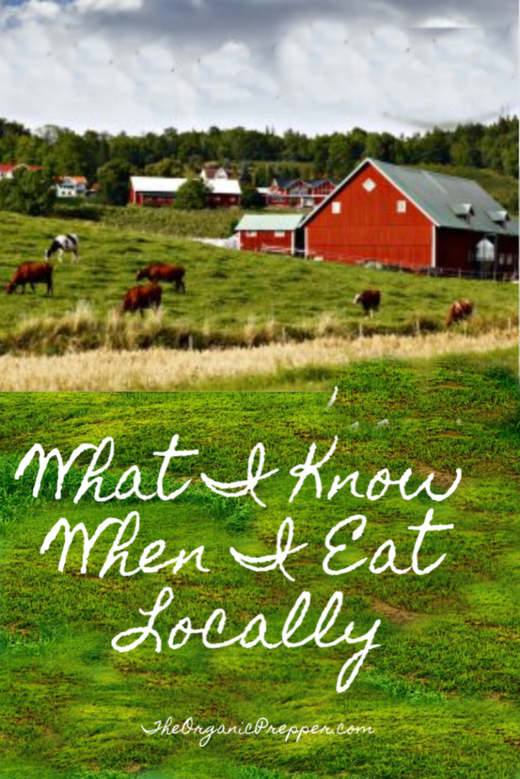 What I Know When I Eat Locally