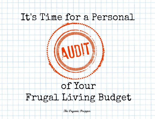 http://www.theorganicprepper.ca/its-time-for-a-personal-audit-of-your-frugal-living-budget-08122015