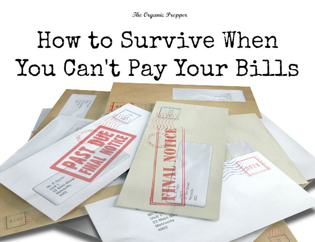 Here's how to prioritize your payments when you can't pay your bills.