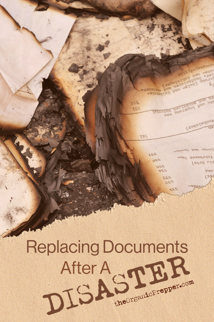 Replacing Documents After a Disaster