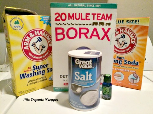 Dishwasher powder ingredients