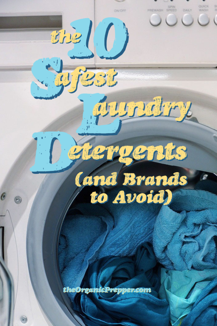The 10 Safest Laundry Detergents (And Brands to Avoid)