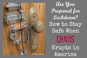 prepare for lockdown