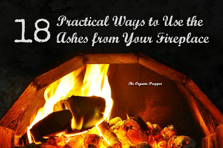 18 Ways to Use the Ashes from Your Fireplace - The Organic Prepper