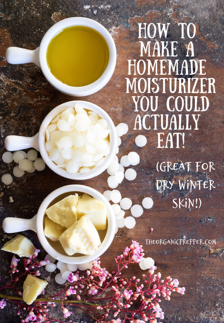How to Make a Homemade Moisturizer You Could Actually Eat (Great for Dry Winter Skin)