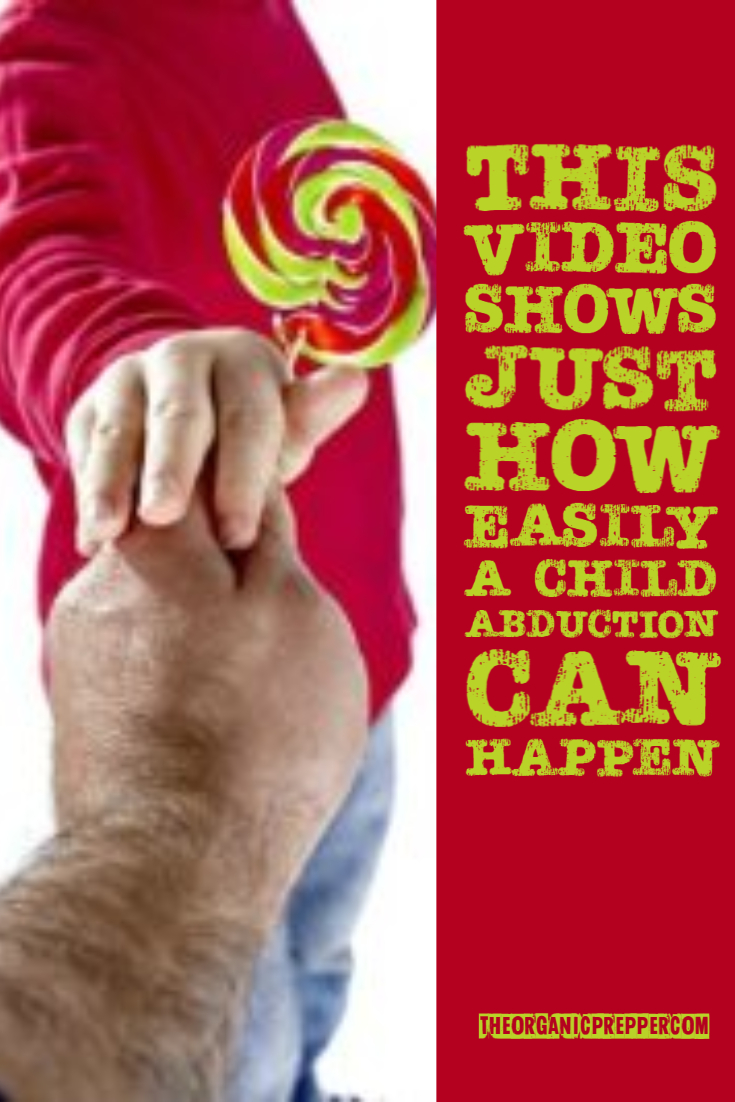 This Video Shows Just How Easily a Child Abduction Can Happen