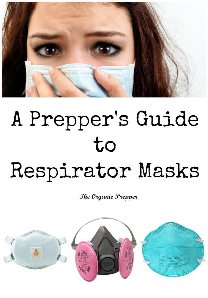 A Prepper\'s Guide to Respirator Masks