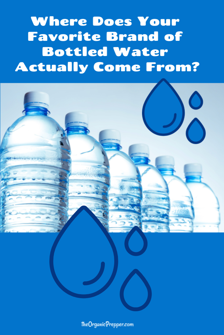 Where Does Your Favorite Brand of Bottled Water Actually Come From?