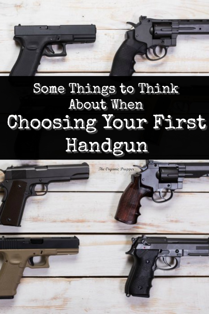 There are a lot of things to think about when choosing your first handgun. This article contains a glossary of terms and some philosophical basics.