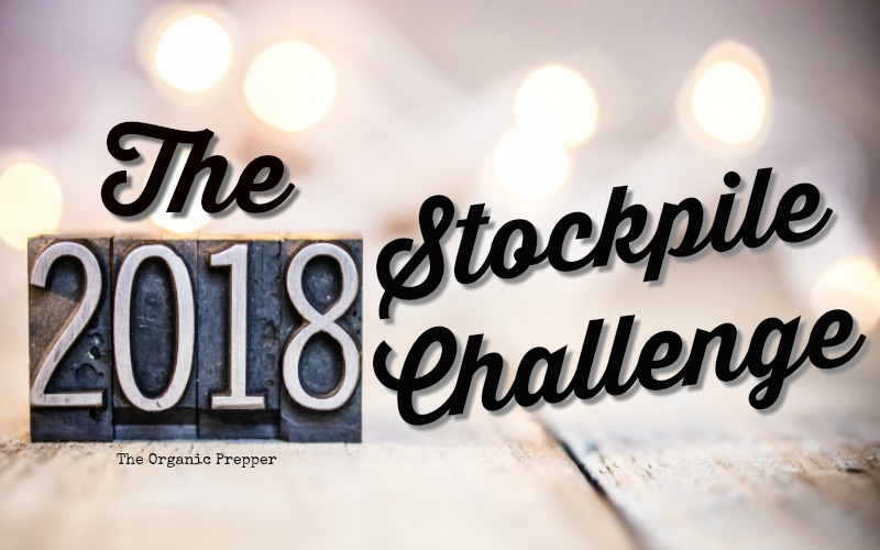 Join us for the 2018 Stockpile Challenge. This month, see if you can get by with only the food that you have on hand. Trust me, you'll learn a lot!