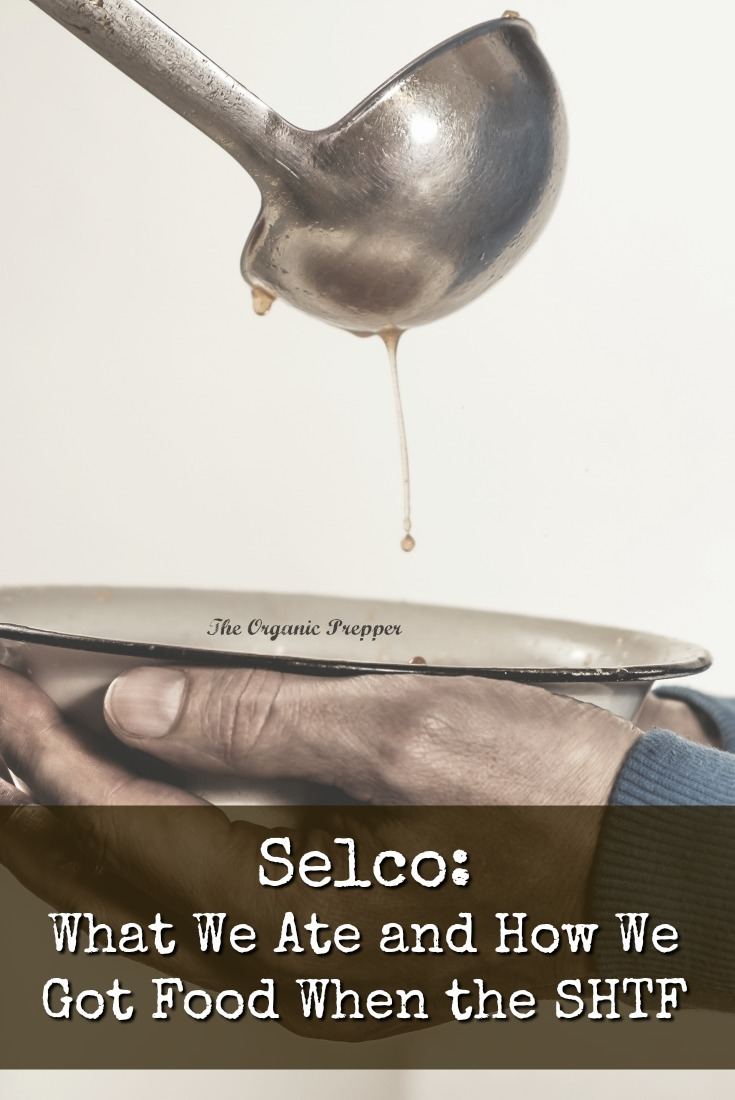 Selco: Acquiring food in urban settings when the SHTF means taking it from other people - either people that aren't there (empty houses) or people that are there (trade or attack).   The Organic Prepper