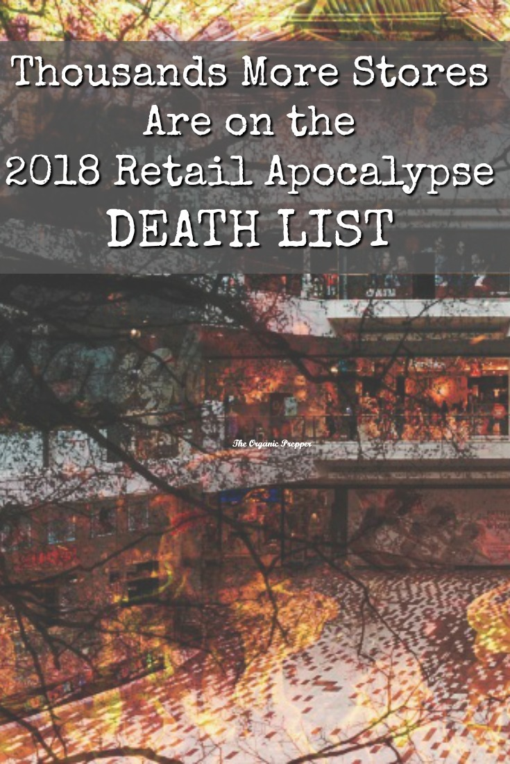 Thousands of stores will close this year, leaving tens of thousands of people unemployed. Here's how this retail apocalypse could devastate our economy. | The Organic Prepper