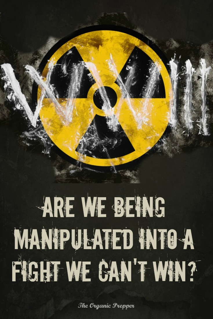 Everyone is talking about World War III right now, but are we being manipulated into a fight we can't win? | The Organic Prepper