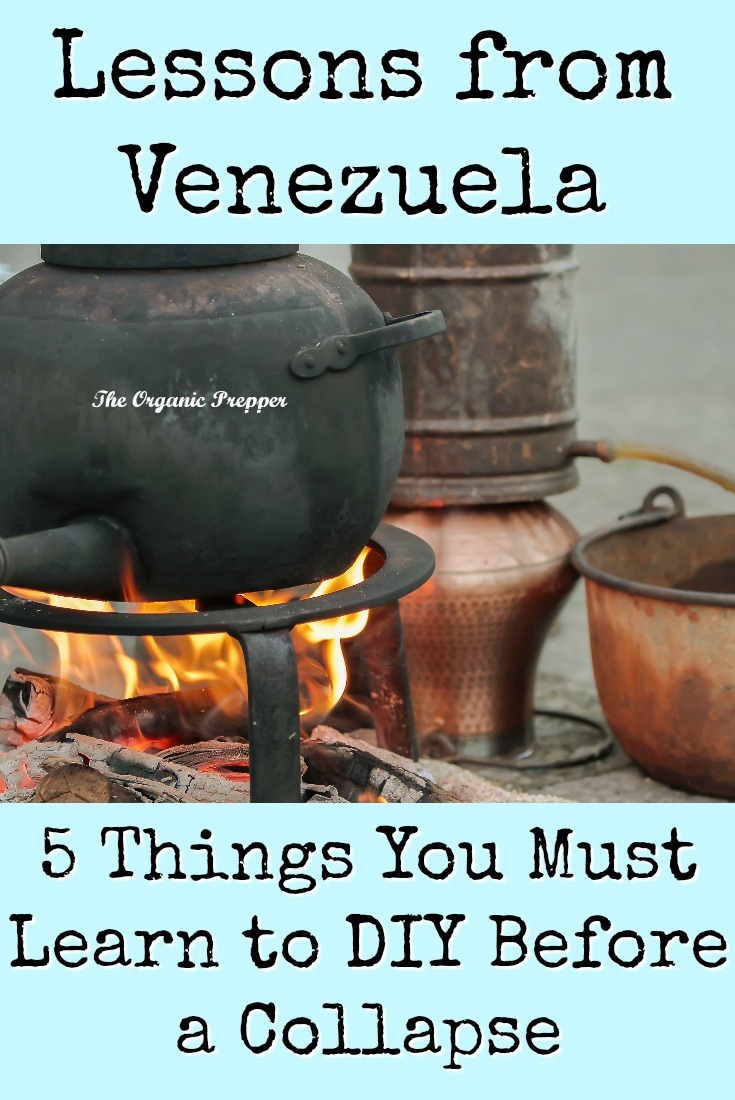 An analysis of the induced scarcity in Venezuela can help preppers decide what to DIY to replace those goodies that suddenly disappeared from the store shelves. These are the 5 things you need to know how to make in the event of a collapse. | The Organic Prepper