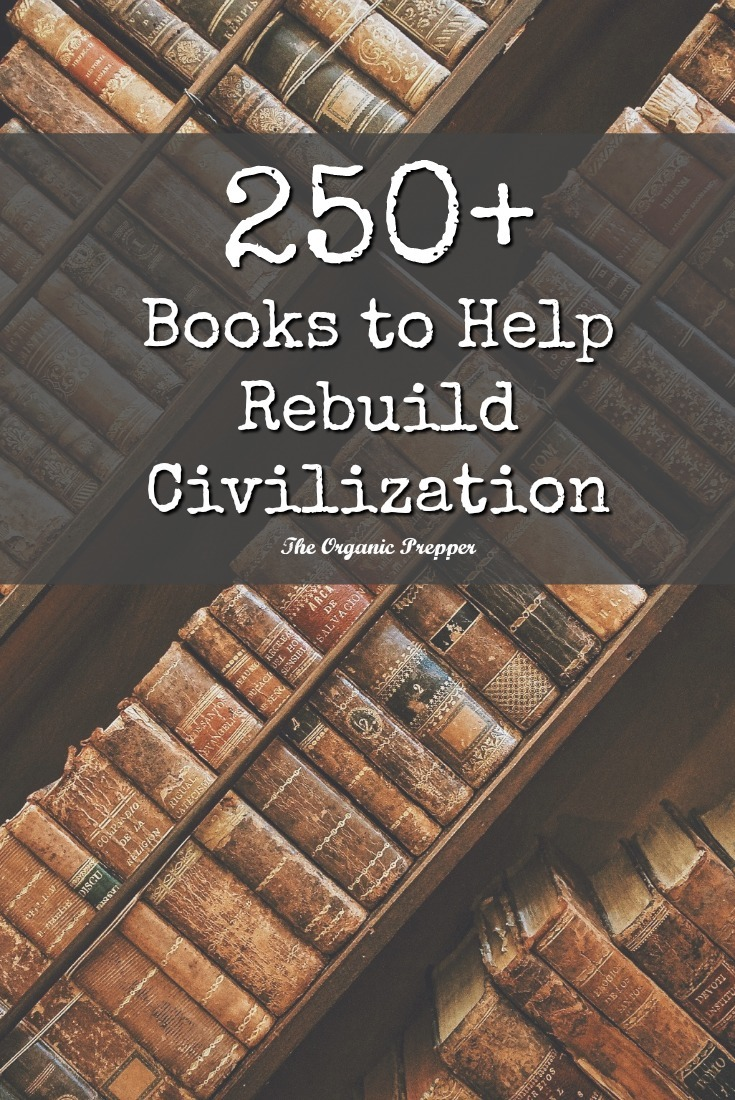 After a complete collapse, civilization can only be rebuilt using the knowledge that has almost been lost. Here is a library with the information you need to collect. | The Organic Prepper