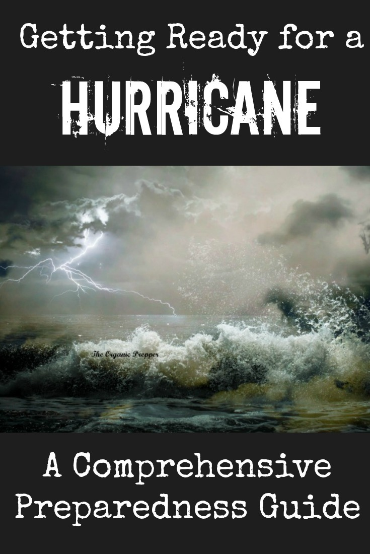 Getting Ready for a Hurricane: A Comprehensive Preparedness Guide (with a FREE Printable Shopping List)