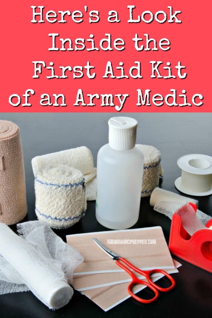 Here\'s a Look Inside the First Aid Kit of an Army Medic
