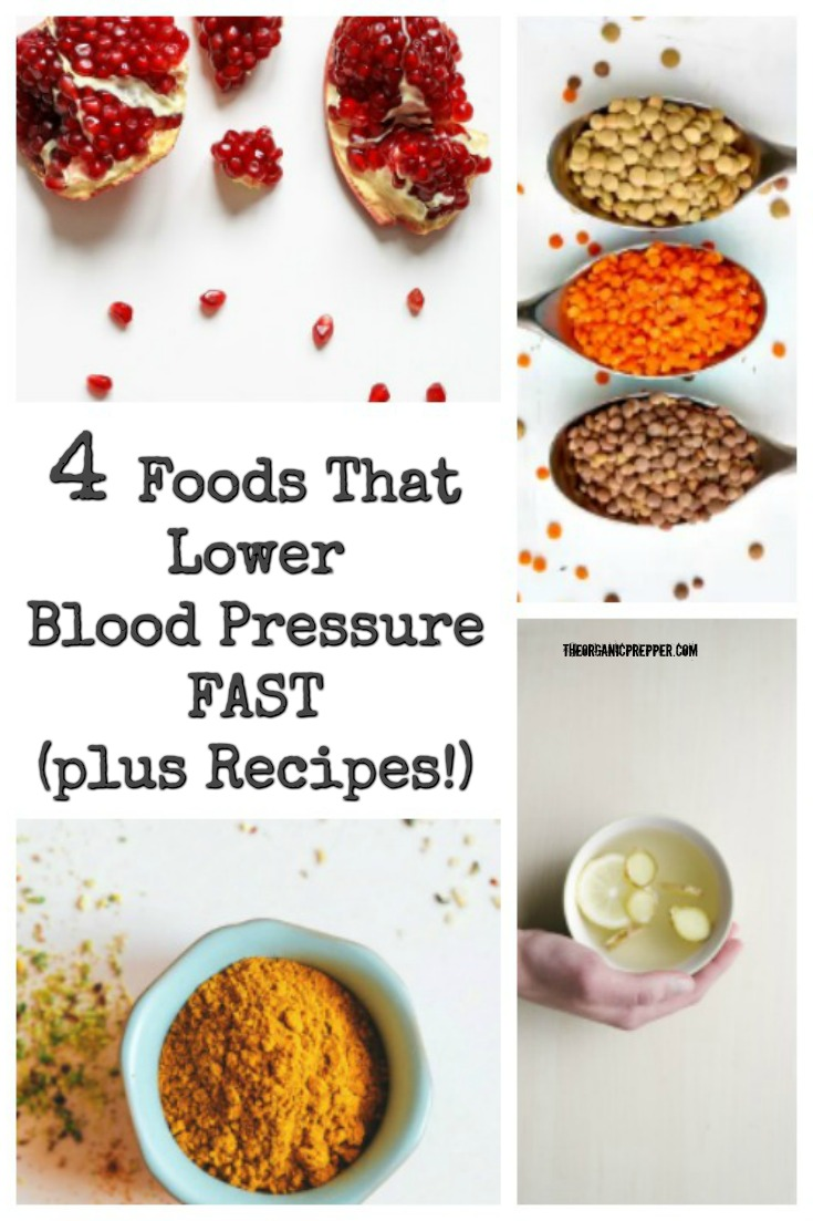 4 Foods That Lower Blood Pressure FAST (plus Recipes!)