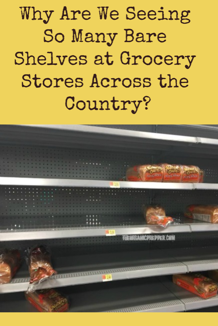 Why Are We Seeing So Many Bare Shelves at Grocery Stores Across the Country?