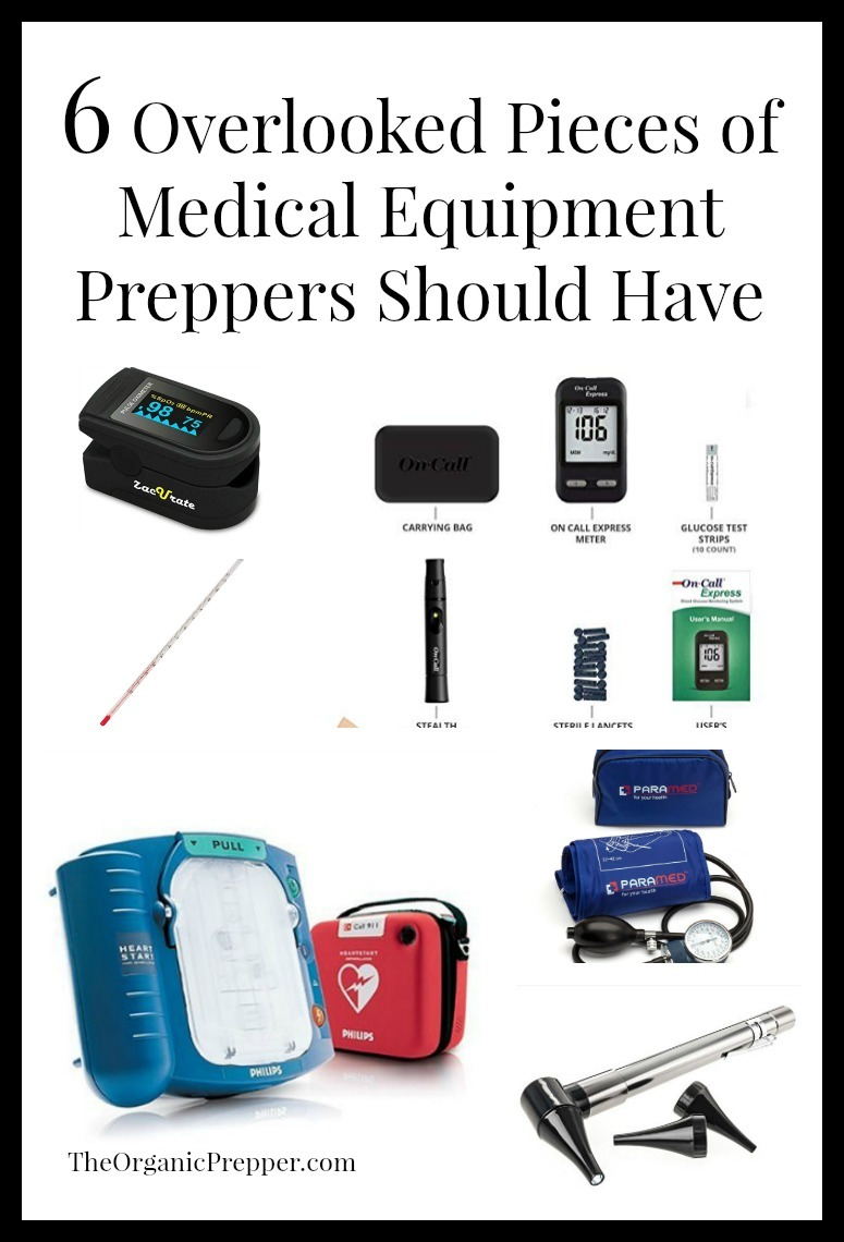 6 Overlooked Pieces of Medical Equipment Preppers Should Have