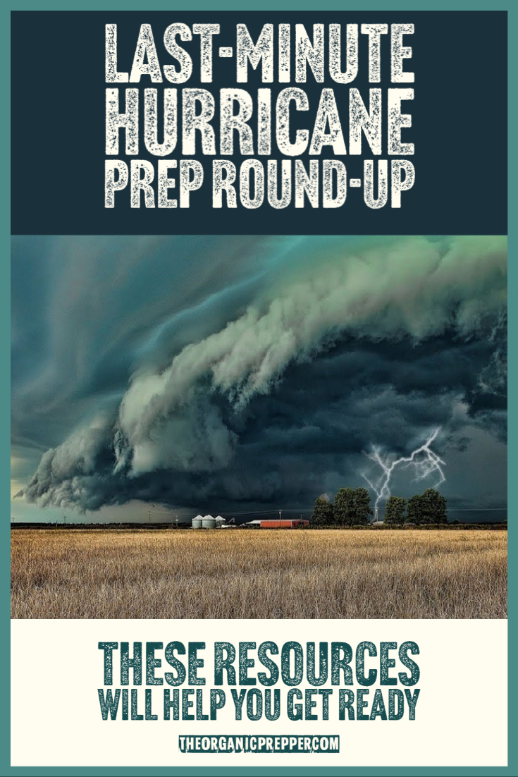 Last-Minute Hurricane Prep Round-Up: These Resources Will Help You Get Ready
