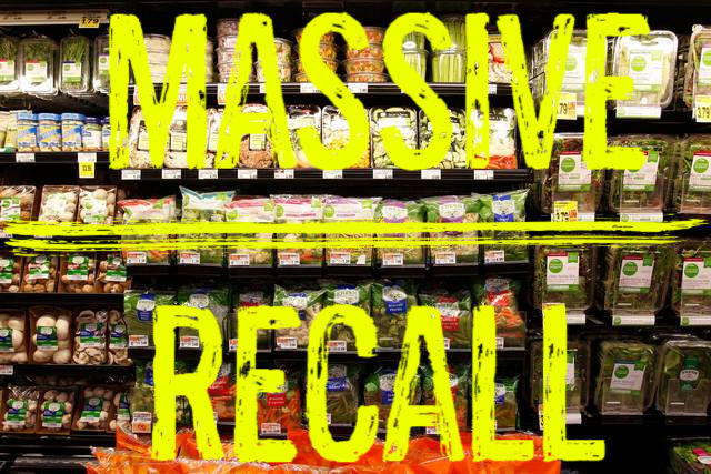 More Than 100 Vegetable Products Recalled Across US and Canada