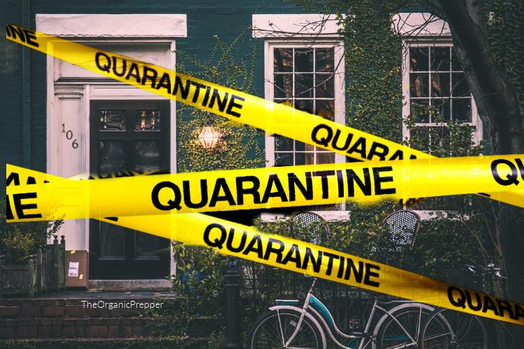 quarantine prepare coronavirus organic